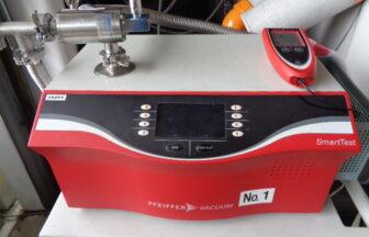 ヘリウムリークディテクター