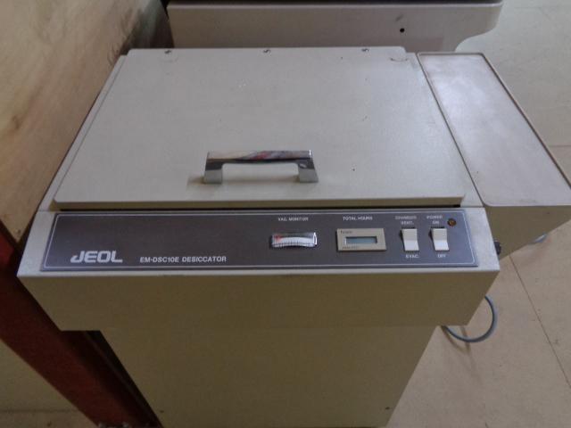 真空デシケーター、日本電子(JEOL)、EM-DSC10E