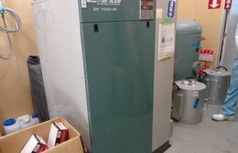 エアーコンプレッサー(スクロールコンプレッサー)・コベルコ・ES15AD-5 II(M210126A01)