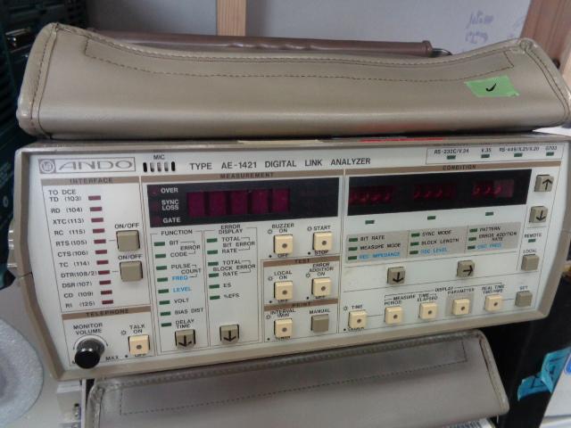 デジタルリンクアナライザー・ANDO安藤・AE1421(M210114A05)