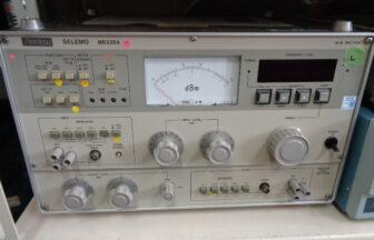 選択レベル測定器(セレモ)・アンリツ・MS330A-OP01/02(M210114A04)