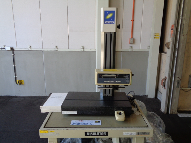 粗さ測定器・東京精密・SURFCOM1400D・M201105A01