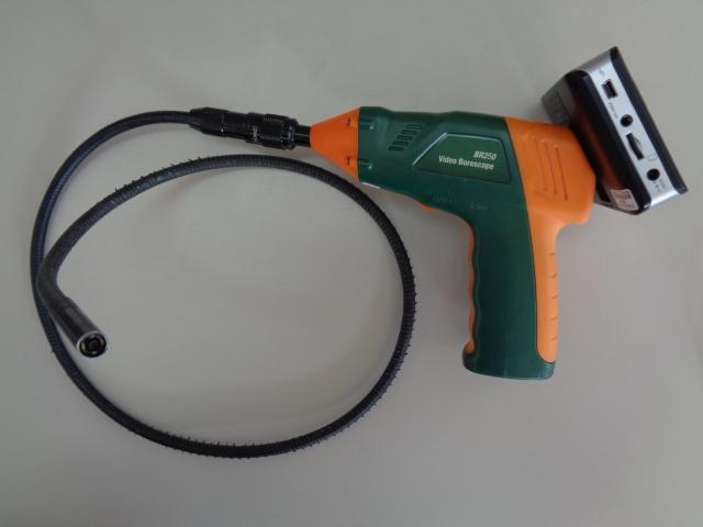 ビデオボアスコープ/ワイヤレス検査カメラ、EXTECH、BR250、Video Borescope、Wireless Inspection Camera